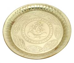 Brass Plate with Beeding