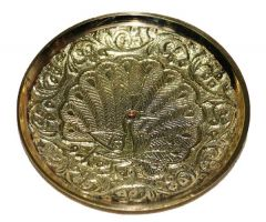 Pin Tray with Peacock - 2 inches