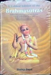 A Critical Edition...Brahmasutras - (3 Vols Set)